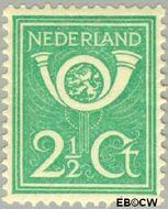 Nederland NL 112  1923 Diverse voorstellingen 2½ cent  Gestempeld