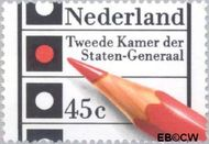 Nederland NL 1129  1977 Verkiezingen Tweede Kamer 45 cent  Gestempeld