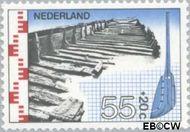 Nederland NL 1135  1977 Archeologische vondsten 55+20 cent  Gestempeld
