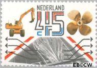 Nederland NL 1228  1981 Export 45 cent  Gestempeld