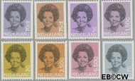Nederland NL 1238a#1251a  1982 Koningin Beatrix- Type 'Struycken'  cent  Postfris
