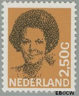 Nederland NL 1246  1986 Koningin Beatrix- Type 'Struycken' 250 cent  Gestempeld
