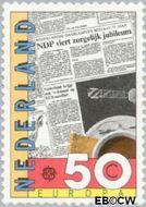 Nederland NL 1285  1983 C.E.P.T.- Grote werken menselijke geest 50 cent  Gestempeld