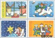 Nederland NL 1295#1298  1983 Wintermotieven  cent  Gestempeld