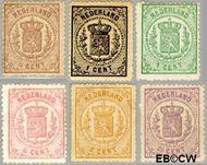 Nederland NL 13#18  1869 Rijkswapen   cent  Gestempeld