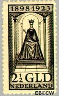 Nederland NL 130  1923 Koningin Wilhelmina- Regeringsjubileum 250 cent  Gestempeld