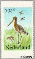 Nederland NL 1305b  1984 Weidevogels 70+30 cent  Gestempeld