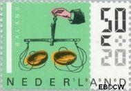 Nederland NL 1348  1986 Meetinstrumenten 50+20 cent  Gestempeld