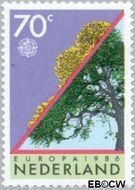 Nederland NL 1354  1986 C.E.P.T.- Natuur en milieu 70 cent  Gestempeld