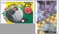 Nederland NL 1359#1360  1986 Sport  cent  Gestempeld