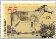 Nederland NL 1399  1988 Dieren 55+30 cent  Gestempeld