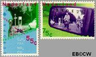 Nederland NL 1404#1405  1988 C.E.P.T.- Transport en communicatie  cent  Gestempeld