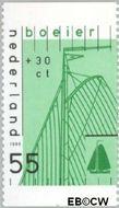 Nederland NL 1427a  1989 Schepen 55+30 cent  Gestempeld