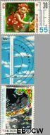 Nederland NL 1444#1446  1990 Het weer  cent  Gestempeld