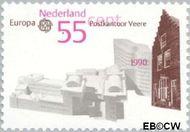 Nederland NL 1451  1990 C.E.P.T.- Postkantoren 55 cent  Postfris