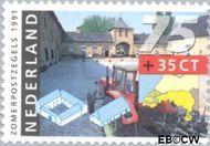 Nederland NL 1470  1991 Boerderijen 75+35 cent  Gestempeld