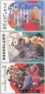 Nederland NL 1483#1485  1991 Kinderspelen  cent  Gestempeld