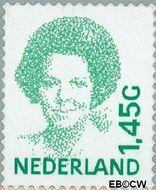 Nederland NL 1495b  2001 Koningin Beatrix- Type 'Inversie' 145 cent  Gestempeld