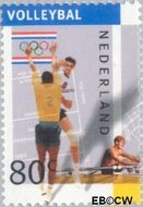 Nederland NL 1517a  1992 Olympische Spelen- Albertville 80 cent  Gestempeld