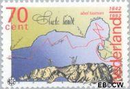 Nederland NL 1520  1992 Tasman, Abel 70 cent  Gestempeld