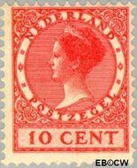 Nederland NL 153  1924 Koningin Wilhelmina- Type 'Veth' 10 cent  Gestempeld