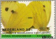 Nederland NL 1555  1993 Natuur en milieu 90 cent  Postfris