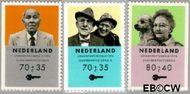 Nederland NL 1560a#1560c  1993 Ouderen  cent  Gestempeld