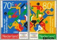 Nederland NL 1563#1564  1993 Jeugd Olympische Dagen  cent  Gestempeld