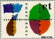 Nederland NL 1573  1993 Dag van de Postzegel 70 cent  Gestempeld