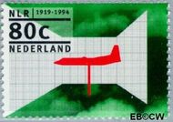 Nederland NL 1607  1994 Nat.Lucht- en ruimtevaartlab. 80 cent  Gestempeld