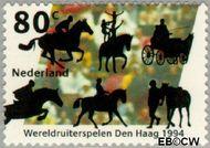 Nederland NL 1617  1994 Ruiterspelen 80 cent  Gestempeld