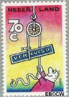 Nederland NL 1672#  1996 Verhuiszegel  cent  Gestempeld
