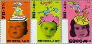 Nederland NL 1698#1700  1996 Kind en boeken  cent  Gestempeld