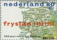 Nederland NL 1767#  1998 Centrale besturing Friesland  cent  Gestempeld