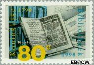 Nederland NL 1772  1998 Koninklijke Bibliotheek 80 cent  Postfris