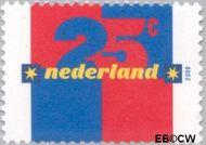 Nederland NL 1876#  2000 Kwartje  cent  Gestempeld