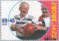 Nederland NL 1891  2000 Ouderen 80+40 cent  Gestempeld