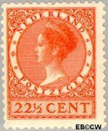 Nederland NL 191  1939 Koningin Wilhelmina- Type 'Veth' 22½ cent  Postfris