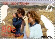 Nederland NL 1955  2001 Vijf keer hart voor de natuur 80 cent  Gestempeld