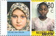 Nederland NL 1964  2001 Tussen twee culturen 80 cent  Gestempeld