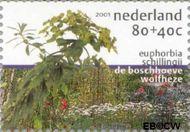 Nederland NL 1973d  2001 Tuinen in Nederland 80+40 cent  Gestempeld