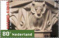 Nederland NL 1979  2001 Nieuwe kunst 80 cent  Gestempeld