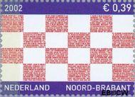 Nederland NL 2069  2002 Provincie- zegel Noord-Brabant 39 cent  Gestempeld