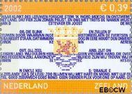 Nederland NL 2075  2002 Provincie- zegel Zeeland 39 cent  Postfris