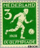 Nederland NL 214  1928 Olympische Spelen- Amsterdam 3+1 cent  Postfris