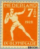 Nederland NL 216  1928 Olympische Spelen- Amsterdam 7½+2½ cent  Gestempeld