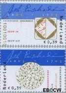 Nederland NL 2162#2163  2003 Johan Enschedé  cent  Gestempeld