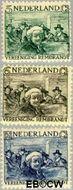 Nederland NL 229#231  1930 Vereniging Rembrandt   cent  Gestempeld
