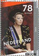 Nederland NL 2342b  2005 Regeringsjubileum Koningin Beatrix 78 cent  Gestempeld