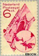 Nederland NL 239  1931 Goudse Glazen 6+4 cent  Gestempeld